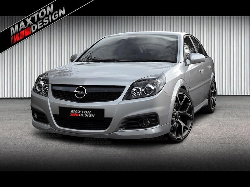 Zderzak Przedni Spoiler Opel Vectra C < OPC-Line > (Polift) - GRUBYGARAGE - Sklep Tuningowy